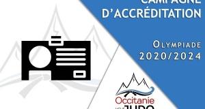 Rappel - Accréditations Olympiade 2020/2024